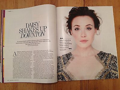 Downton Abbey DAISY LEWIS PHOTO UK YOU INTERVIEW AUGUST 2014 FAYE MARSAY