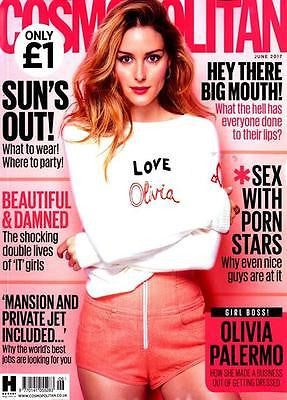 OLIVIA PALERMO - PHOTO COVER Cosmopolitan UK magazine June 2017