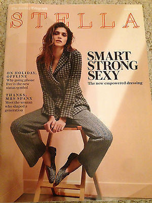 Elisa Sednaoui Photo Cover UK Stella Magazine July 2016 NEW