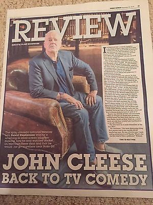 Monty Python JOHN CLEESE Photo Cover interview September 2016 NEW