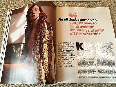 GUARDIAN FASHION Magazine Spring/Summer 2017 KAREN ELSON PHOTO COVER INTERVIEW
