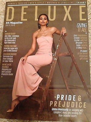 UK Emma Weymouth EXCLUSIVE Interview DELUXE Magazine November 2015 Jared Leto