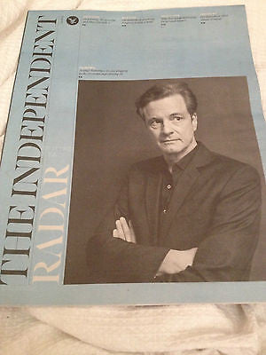 UK Colin Firth RADAR Magazine Cover Clippings Devils Knot Promo Interview NEW
