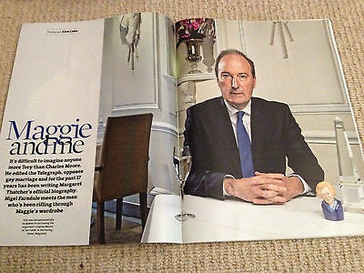 CHARLES MOORE interview MARGARET THATCHER UK 1 DAY ISSUE 2014