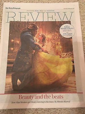 Telegraph Review February 2017 Beauty And The Beast Emma Watson Hayley Squires