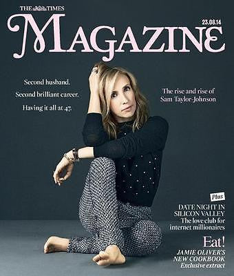 50 Shades of Grey SAM TAYLOR JOHNSON AARON TIMES UK PHOTO COVER AUGUST 2014