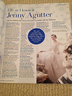 NEW S MAGAZINE DECEMBER 2013 JENNY AGUTTER DAVE HILL MIDGE URE ASHLEIGH & PUDSEY