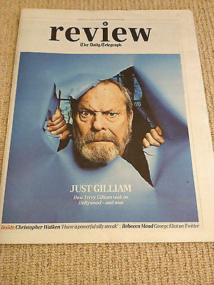 TERRY GILLIAM interview BEN WHISHAW UK 1 DAY ISSUE 2014 BERENICE BEJO KYLIE