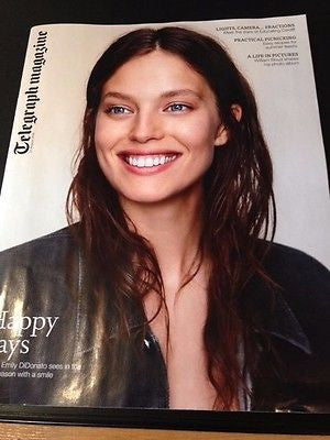 UK Telegraph Magazine August 2015 EMILY DIDONATO William Boyd PELE Olivia Cooke