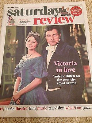 VICTORIA Jenna Coleman & Rufus Sewell Photo Cover UK Times Review August 2016