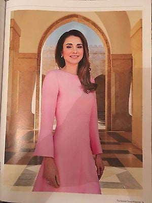 Sunday Times Magazine April 2017 Queen Rania of Jordan Tamara & Petra Ecclestone