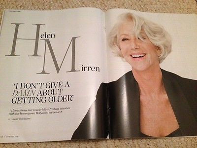 (UK) YOU MAGAZINE SEPTEMBER 2015 HELEN MIRREN GEORGINA CAMPBELL EMMANUEL VASS