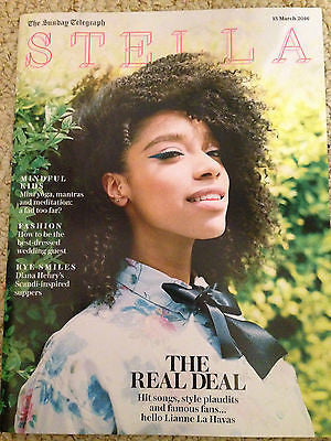 STELLA Magazine March 2016 Blood Lianne La Havas Photo Cover Interview