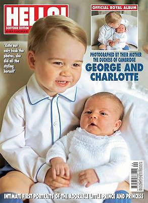 (UK) HELLO Magazine 6/15/15 ROYAL BABY PRINCESS CHARLOTTE & PRINCE GEORGE PHOTOS