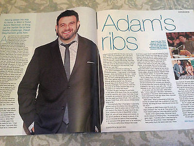 UK S MAGAZINE 2015 - ADAM RICHMAN - GABBY LOGAN - AMY WALSH - ANDREW FLINTOFF