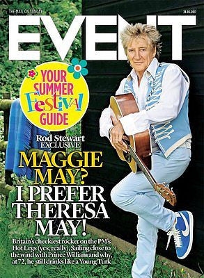 UK Event Magazine 27th May 2017 Rod Stewart Sir Roger Moore Samuel West