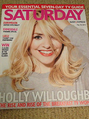 SATURDAY Mag 2014 HOLLY WILLOUGHBY Sheila Ferguson Ruthie Henshall Emma Atkins