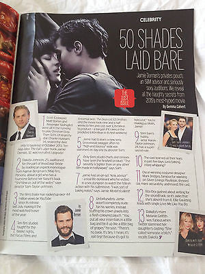 Fifty Shades of Grey Jamie Dornan Dakota Johnson Secrets Fabulous Magazine 2015