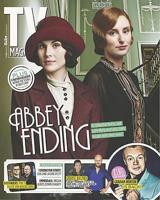 DOWNTON ABBEY UKmag 2014 NEW SERIES MICHELLE DOCKERY LADY MARY LAURA CARMICHAEL
