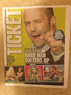TICKET Magazine Dec 2013 JASON STATHAM DANIEL RADCLIFFE KAMALYA SHERIDAN SMITH