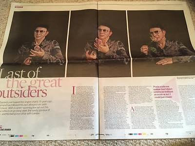 TOM FORD PHOTO COVER Interview UK Observer New Review October 2016 MARC ALMOND