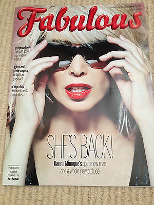 DANNII MINOGUE BRAND NEW FABULOUS UK COVER MAGAZINE MARCH 2014 BELINDA CARLISLE