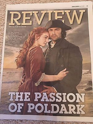 AIDAN TURNER - The Passion of Poldark Photo Cover Interview June 11 2017