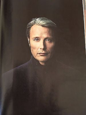 Hannibal MADS MIKKELSEN PHOTO INTERVIEW UK TELEGRAPH MAGAZINE DECEMBER 2016
