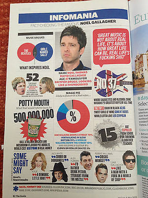 GUIDE MAGAZINE FEB 28 2015 ELLIE KEMPER Jeremy Renner Noel Gallagher Mapei