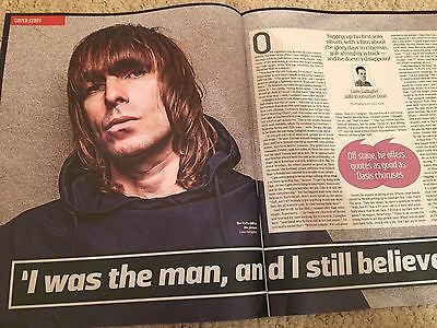 LIAM GALLAGHER Bruce Springsteen Photo Cover UK Culture Magazine Oct 2016 NEW