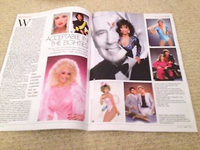 ROB LOWE interview JFK UK 1 DAY ISSUE NEW DON JOHNSON JOAN COLLINS DOLLY PARTON