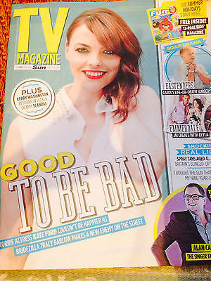 TV Magazine  - 26 July 2014 Kate Ford Tara Reid Jeremy Sheffield Debbie Rush