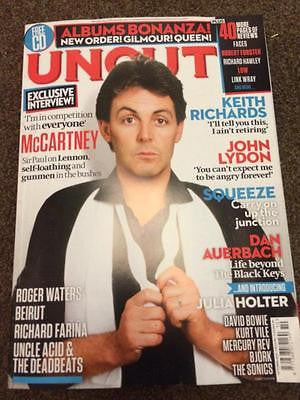 UK UNCUT MAGAZINE OCTOBER 2015 PAUL MCCARTNEY THE BEATLES EXCLUSIVE INTERVIEW