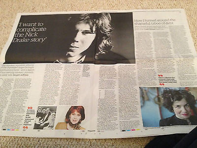 GABRIELLE DRAKE interview NICK UK 1 DAY ISSUE 2014 ALI CAMPBELL UB40