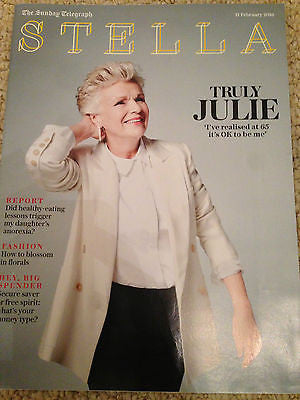 STELLA Magazine February 2016 Indian Summers JULIE WALTERS PHOTO COVER INTERVIEW