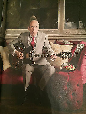 HESTON BLUMENTHAL PHOTO COVER OBSERVER FOOD MAGAZINE AUGUST 2016 MICK JONES