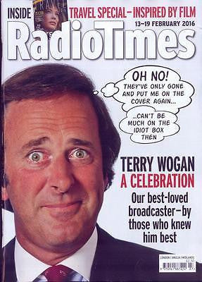 Terry Wogan Death Special Photo Cover RADIO TIMES Magazine February 2016
