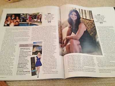 COURTENEY COX interview ALLEN LEECH UK 1 DAY ISSUE BETTY HALBREICH DOWNTON ABBEY