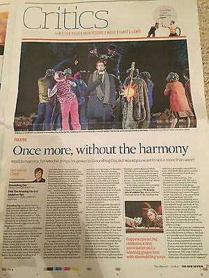 Observer New Review 07/2016 JOHN GRANT Andy Karl BILLY BRAGG Groundhog Day