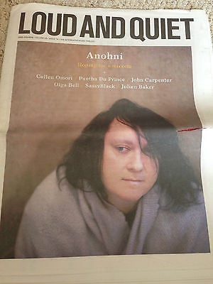 UK Loud & Quiet Supplement Issue 76 Antony Hegary ANOHNI Photo Cover Interview