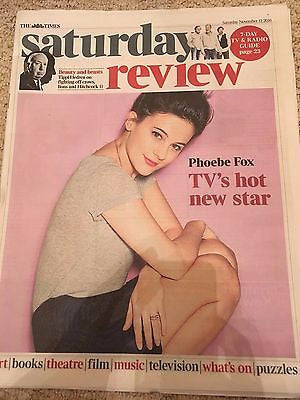 PHOEBE FOX Photo Interview UK Times - November 2016 KATE BUSH ABOVE AND BEYOND