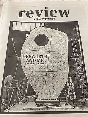 Telegraph Review June 2015 DAMON ALBARN WOLF ALICE BARBARA HEPWORTH