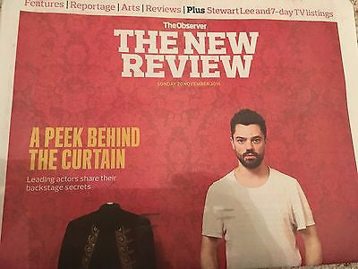 Dominic Cooper - Mark Rylance - Michael C Hall UK Observer Review November 2016