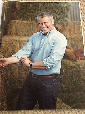 Episodes MATT LEBLANC UK PHOTO COVER INTERVIEW MAGAZINE 2014 CECIL BEATON