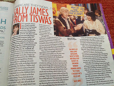 Tess Daly Kirsty Gallacher Sally James Tiswas Saturday Magazine UK February 2015