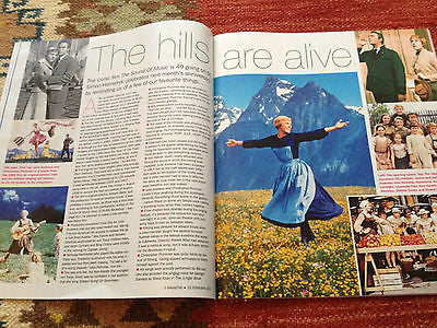 BELINDA LANG Julia Stiles Margot Robbie Julie Andrews TWIGGY S EXPRESS Feb 2015
