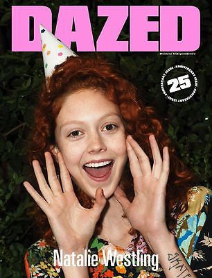 NATALIE WESTLING Cover - DAZED & CONFUSED 25th Anniversary magazine A/W 2016 NEW