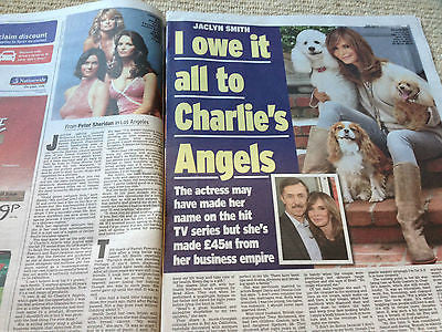 Charlie's Angels JACLYN SMITH photo interview JULY 2014