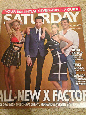 UK Saturday Magazine 2015 SIMON COWELL Amanda Redman RITA ORA Chris Ellison