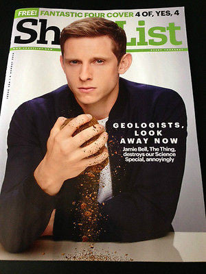 JAMIE BELL PHOTO COVER FANTASTIC FOUR UK SHORTLIST MAGAZINE AUGUST 2015